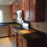 Brown Kitchen Custom Cabinets San Diego