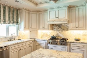 Custom Cabinet White Kitchen San Diego