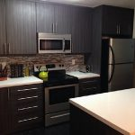 Custom Kitchen Cabinet San Diego Dark Brown