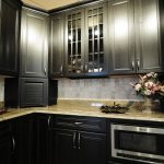 Dark Kitchen Custom Cabinets San Diego