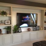 Entertainment Center Custom Cabinet San Diego