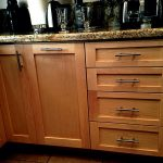 Light Brown Custom Kitchen Cabinet San Diego