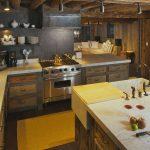 Rustic Kitchen Cabinet San Diego