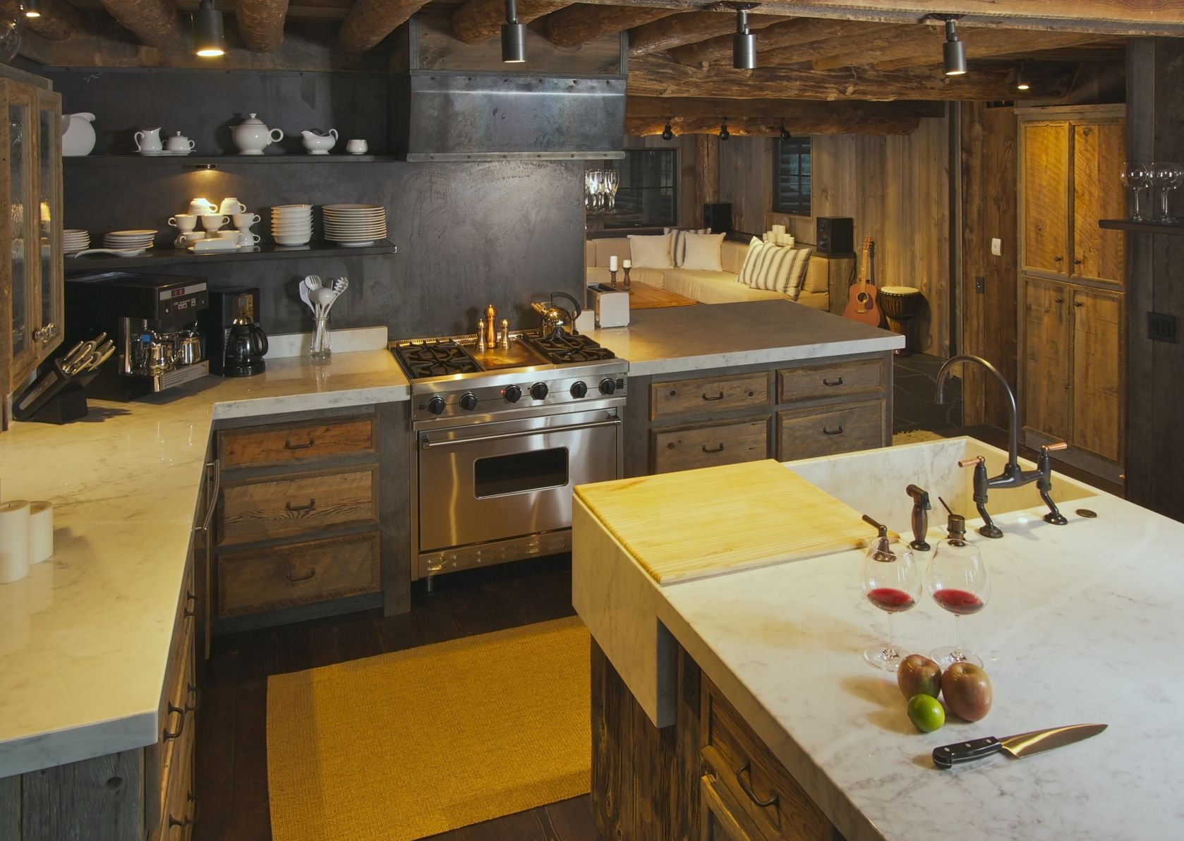Dark Kitchen Custom Cabinets San Diego Rustic Kitchen Cabinet San Diego ...