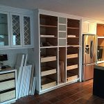 San Diego CA Custom White Cabinet