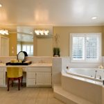 White Bathroom Custom Cabinet San Diego