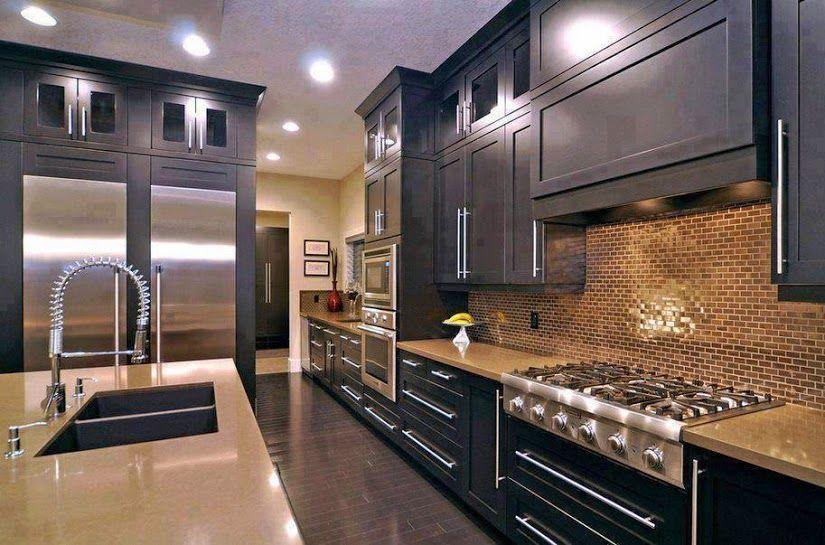 Modern Elegant Kitchen Cabinet San Go
